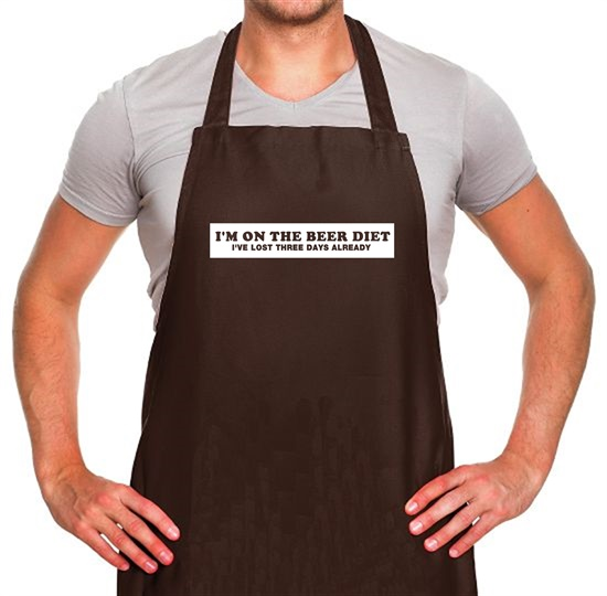 I'm On The Beer Diet I've Lost Three Days Already Apron