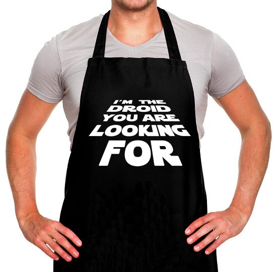 I'm The Droid You're Looking For Apron