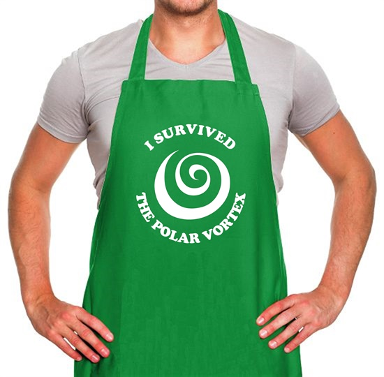 i survived the polar vortex Apron