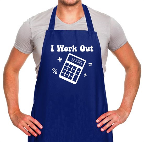 I Work Out Apron
