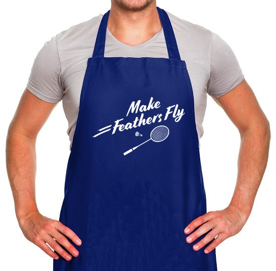 Make Feathers Fly Apron