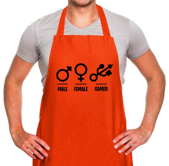 Male/Female/Gamer Apron