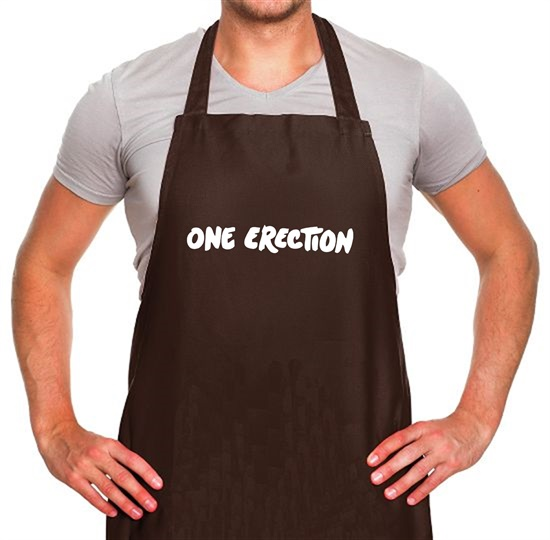 One Erection Apron