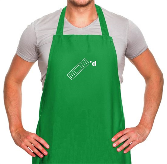 Plastered Apron