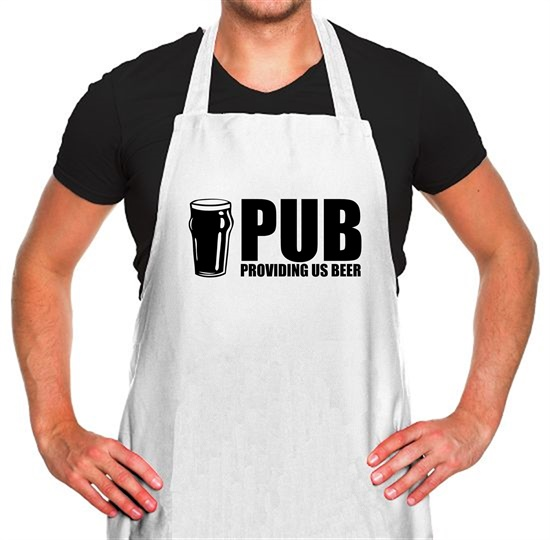 PUB : Providing Us Beer Apron