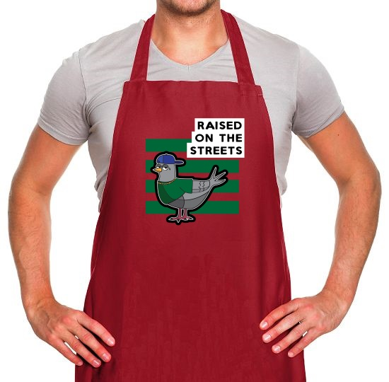 Raised On The Streets Apron