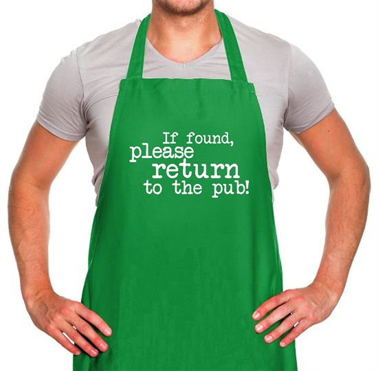 If Found, Please Return To The Pub! Apron