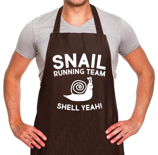 Snail Running Team Apron