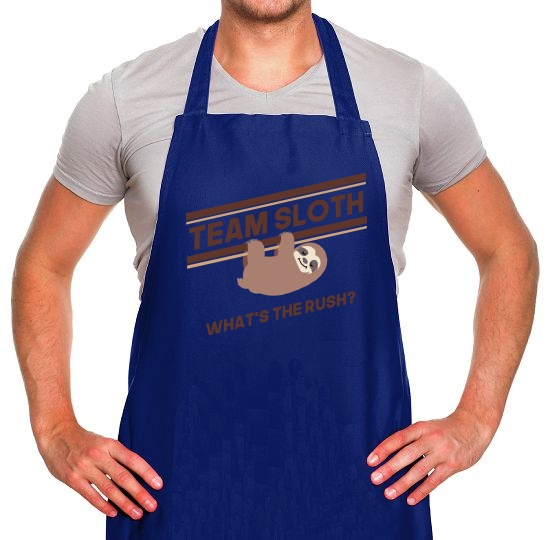 Team Sloth Apron