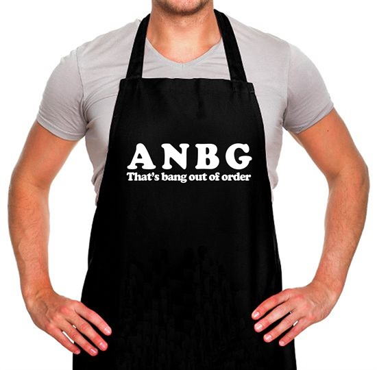 ANBG That's Bang Out Of Order Apron