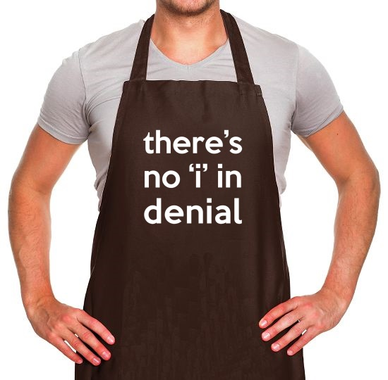 There's No Apron