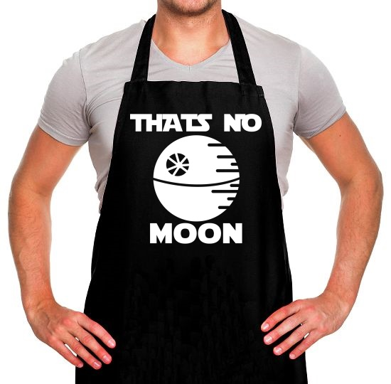 That's No Moon Apron