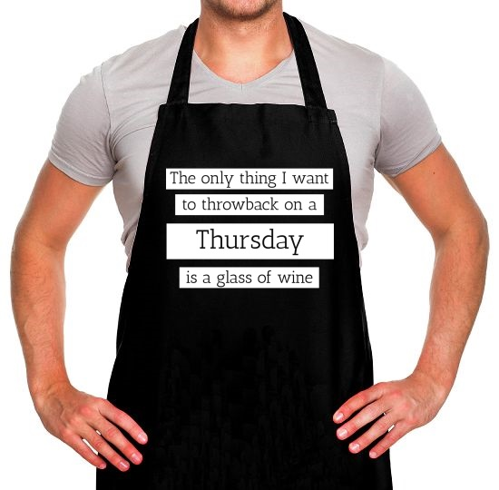 Throwback Thursday Apron