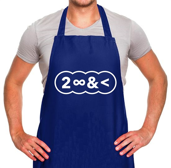 To Infinity And Beyond Apron