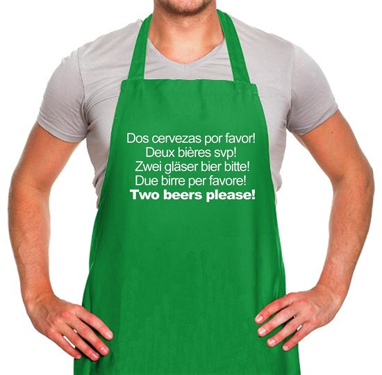 Two Beers Please! Apron