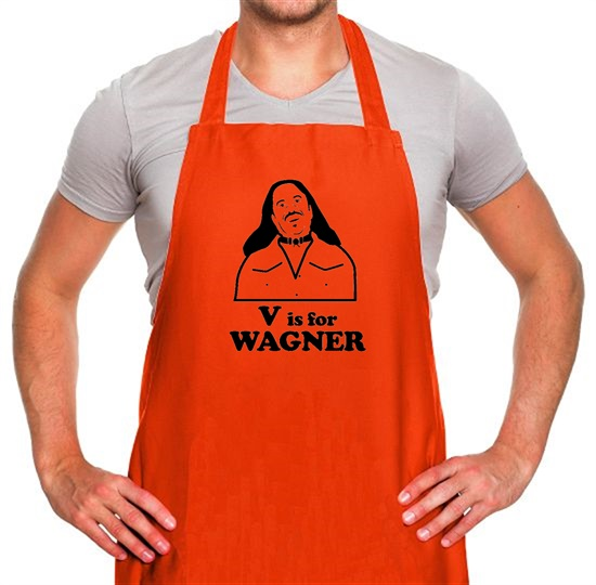 V Is For Wagner Apron