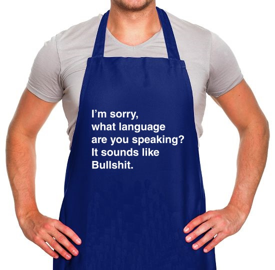 What Language Are You Speaking? Apron