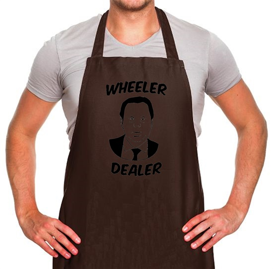Harry Redknapp Wheeler Dealer Apron