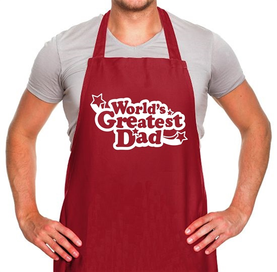 World's Greatest Dad Apron