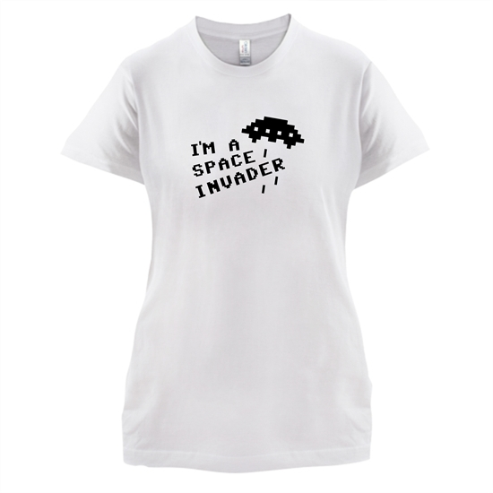 I'm A Space Invader t-shirts for ladies