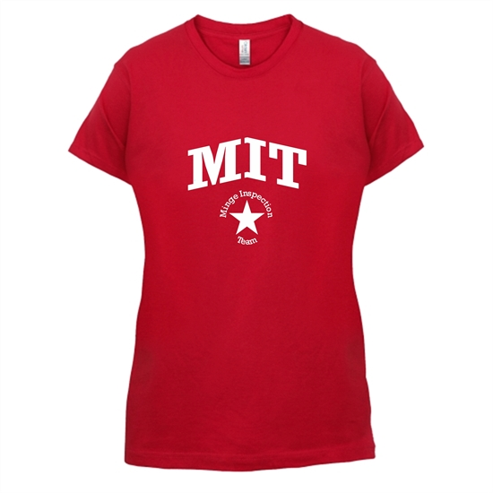 Minge inspection team t-shirts for ladies