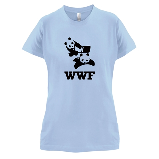 WWF t-shirts for ladies