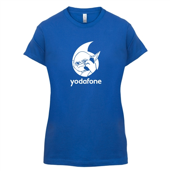 Yodafone t-shirts for ladies