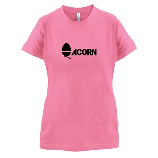 Acorn Computers t-shirts for ladies