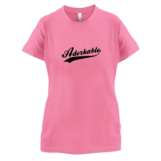 Adorkable t-shirts for ladies