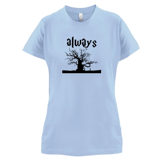 Always Tree t-shirts for ladies