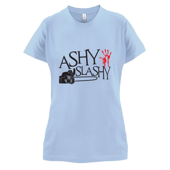 Ashy Slashy t-shirts for ladies