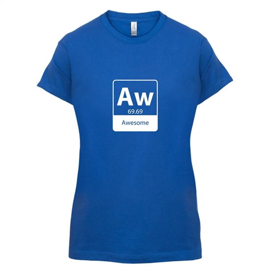 Awesome Element t-shirts for ladies