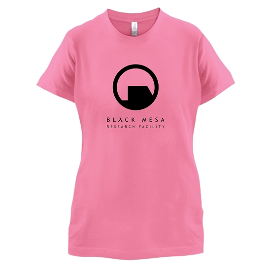 Black Mesa Research Facility t-shirts for ladies