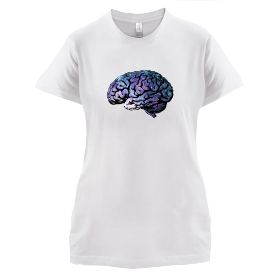 Brain t-shirts for ladies