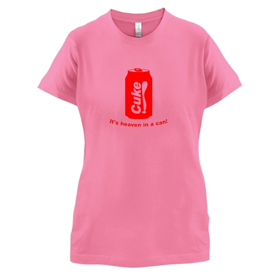 Cuke t-shirts for ladies