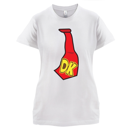 DK Tie t-shirts for ladies
