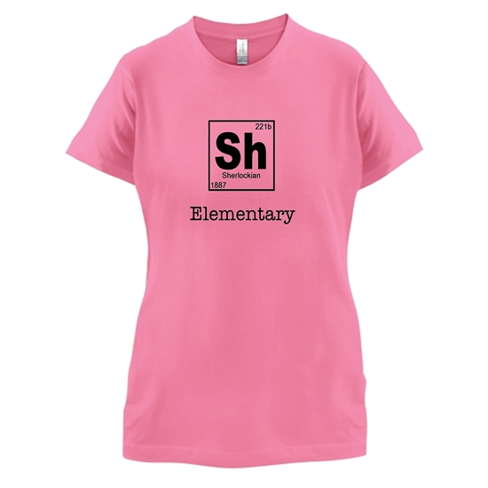 Elementary t-shirts for ladies