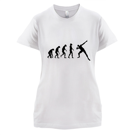 Evolution - Usain Bolt t-shirts for ladies