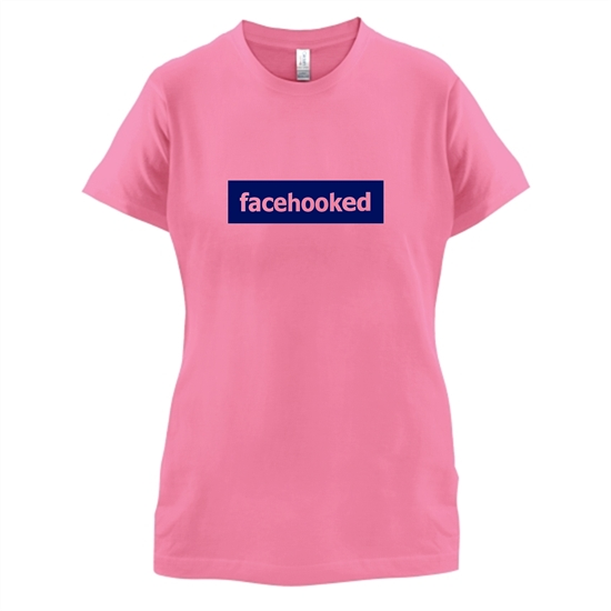 Facehooked t-shirts for ladies