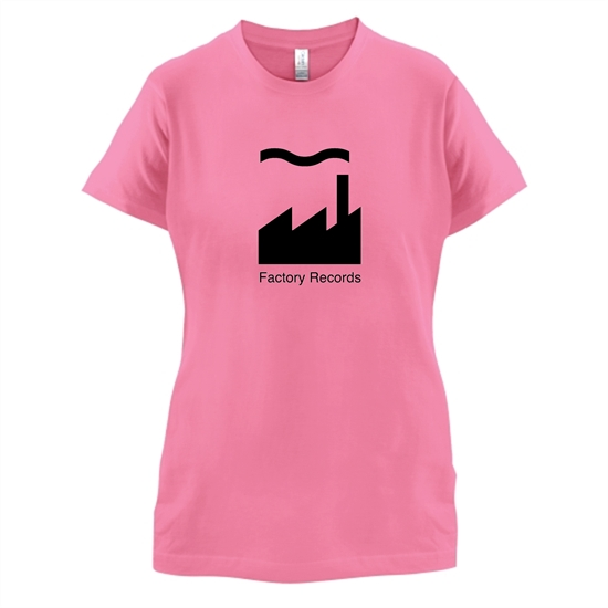 Factory Records t-shirts for ladies