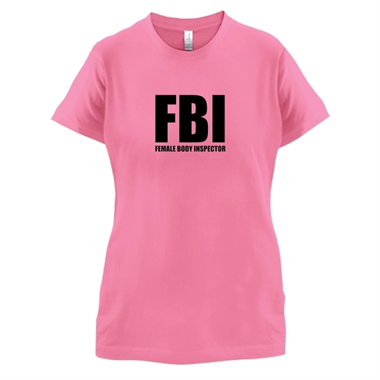Female Body Inspector t-shirts for ladies