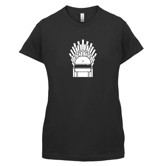 Game Of Fries t-shirts for ladies