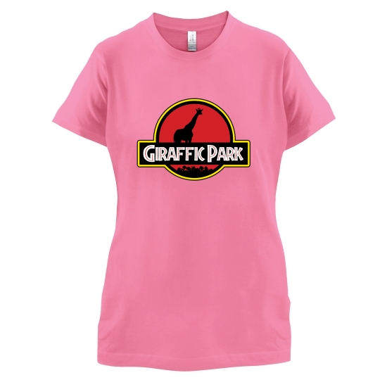 Giraffic Park t-shirts for ladies