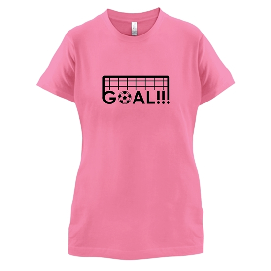 Goal!!! t-shirts for ladies