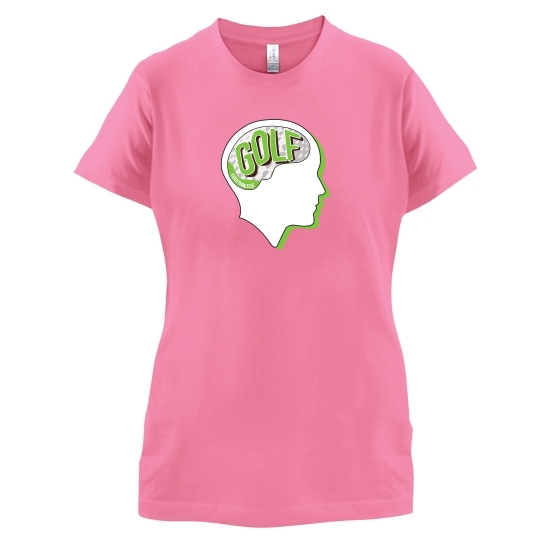 Golf On The Brain t-shirts for ladies
