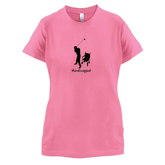 Handicapped t-shirts for ladies