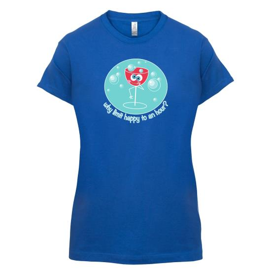Happy Hour t-shirts for ladies