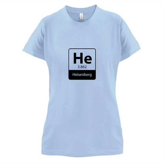 Heisenberg Element t-shirts for ladies