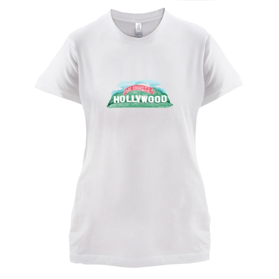 Hollywood t-shirts for ladies