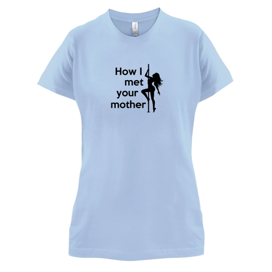 How I Met Your Mother t-shirts for ladies